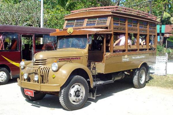 Myanmar Transport ( Burma )