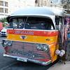 Old bus now a shop, Sliema, Malta