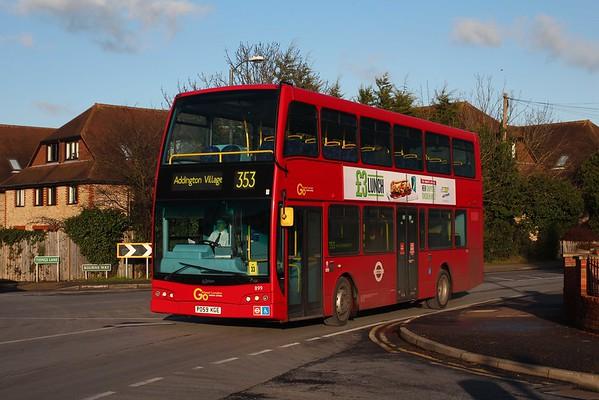 London (January 2015) - jimmyshengukbuses