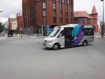 Liverpool One Bus Station and surrounding area 10-11-2018