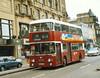 Lothian 631 (GSC631X), Princes Street, Edinburgh, 26th June 1988