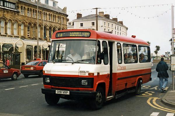 MMM191 D191VRP, Llandudno 6/6/1996
