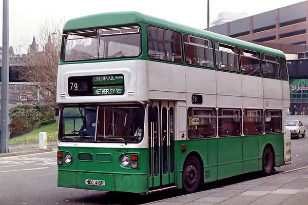 HDG934 NOC416R, Liverpool 8/4/1992