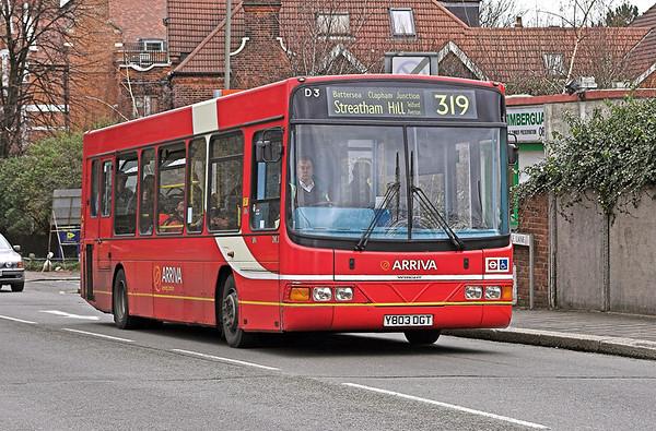 DWL3 Y803DGT, Wandsworth Common 24/3/2006
