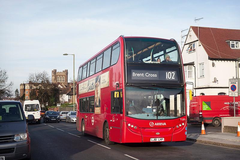 T271 LJ61LHP, Golders Green 11/1/2019