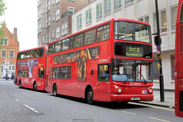 VLA56 LJ04LFL, Marylebone 2/5/2014