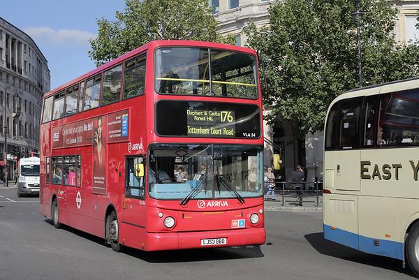 VLA54 LJ53BBO, Trafalgar Square 6/9/2015
