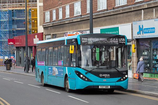 3109 YX17NMK, Leicester 14/3/2019