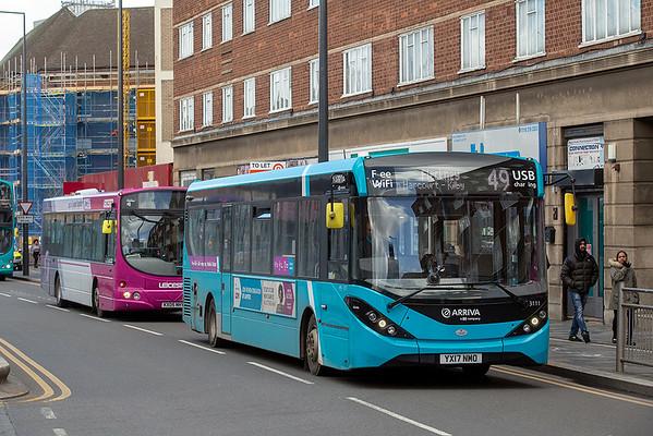 3111 YX17NMO, Leicester 14/3/2019