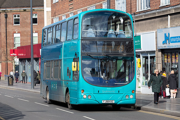 4209 FJ58KXG, Leicester 27/2/2020