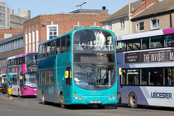 4005 FJ06ZRL, Leicester 27/2/2020