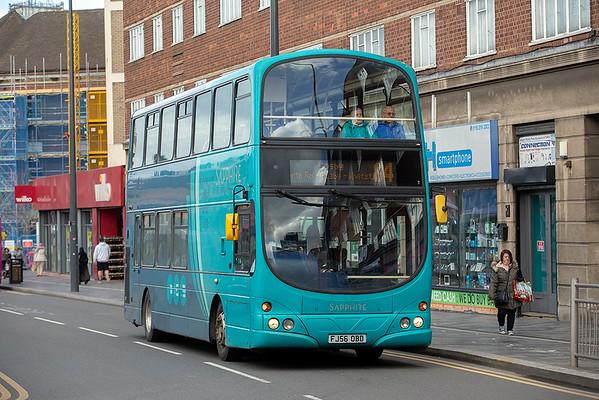 4004 FJ56OBD, Leicester 14/3/2019