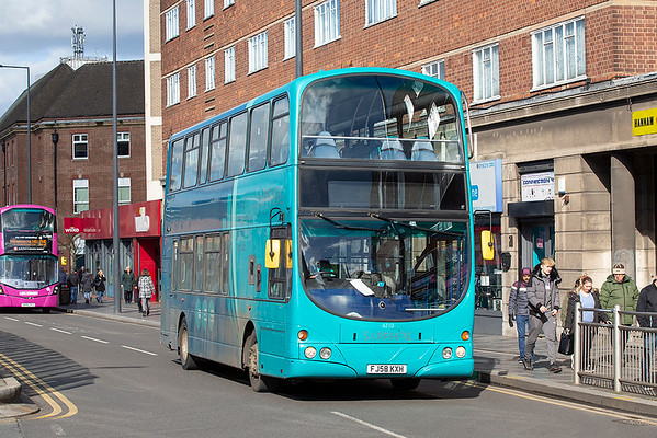 4210 FJ58KXH, Leicester 27/2/2020