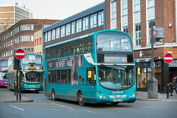 4203 FJ08LVO, Leicester 27/2/2020