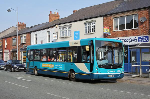 2616 CX56CEU, Crewe 20/6/2017
