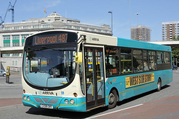 2906 CX58EWV, Liverpool 4/8/2014