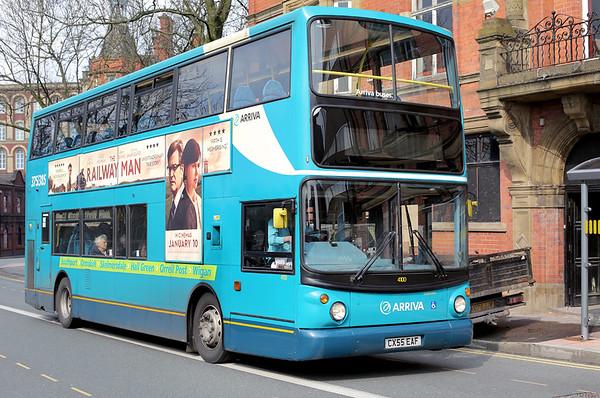 4100 CX55EAF, Wigan 28/3/2014