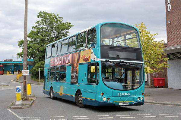 4215 LJ51DHD, Crewe 17/9/2015