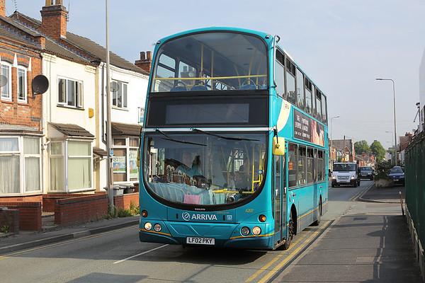 4207 LF02PKY, Crewe 20/6/2017