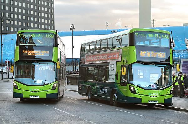 4809 BT66MTZ and 4812 BT66MUC, Liverpool 4/1/2017