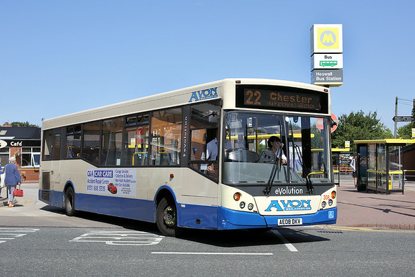 308 AE08DKV, Heswall 4/8/2014