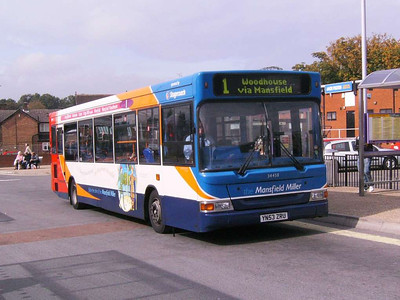 Stagecoach 34458 (YN53ZRU), Alfreton, 22nd September 2007