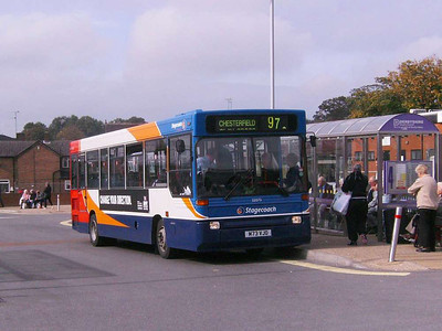 Stagecoach 32073 (M73VJO), Alfreton, 22nd September 2007
