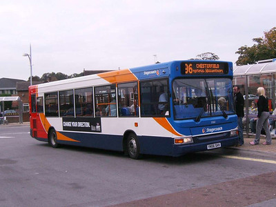 Stagecoach 35263 (YN56SHV), Alfreton, 22nd September 2007