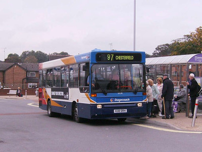 Stagecoach 32118 (K118SRH), Alfreton, 22nd September 2007
