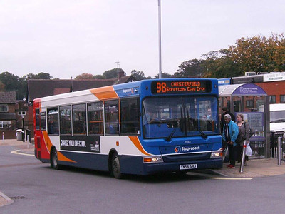 Stagecoach 35262 (YN56SHJ), Alfreton, 22nd September 2007