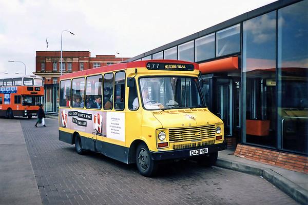 3431 D431NNA, Bury 8/5/1991