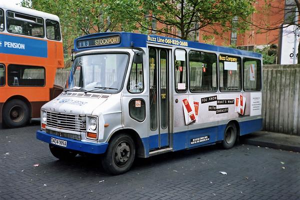 3404 D404NNA, Stockport 24/6/1991