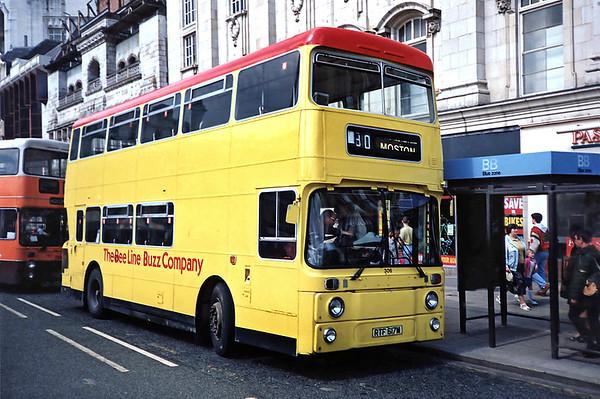 306 RTF617M, Manchester 8/5/1991