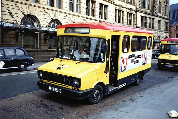 3159 D159NON, Manchester 29/5/1991