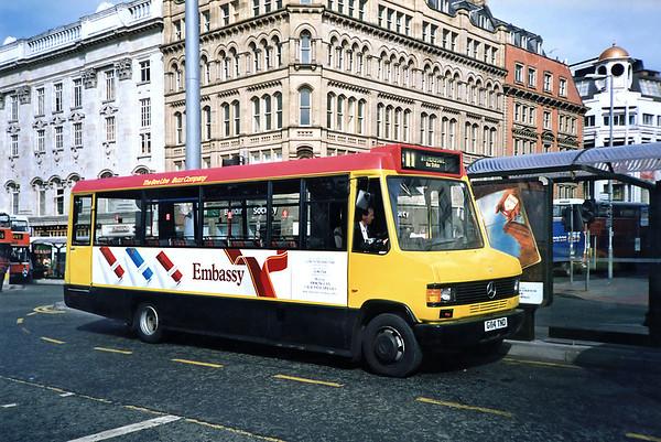 114 G114TND, Manchester 12/9/1991
