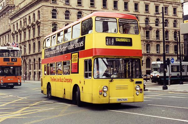 537 TPU70R, Manchester 5/8/1994
