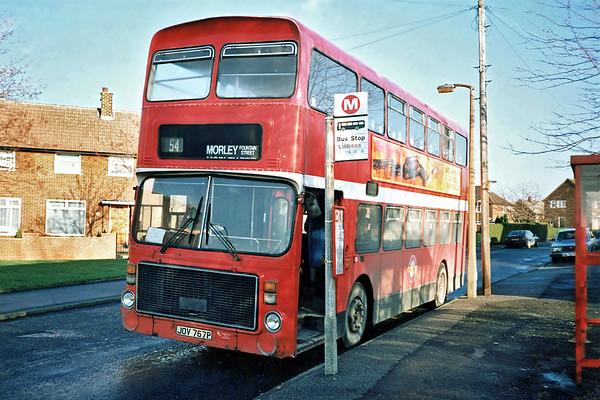 JOV767P, Moor Grange 19/1/1991