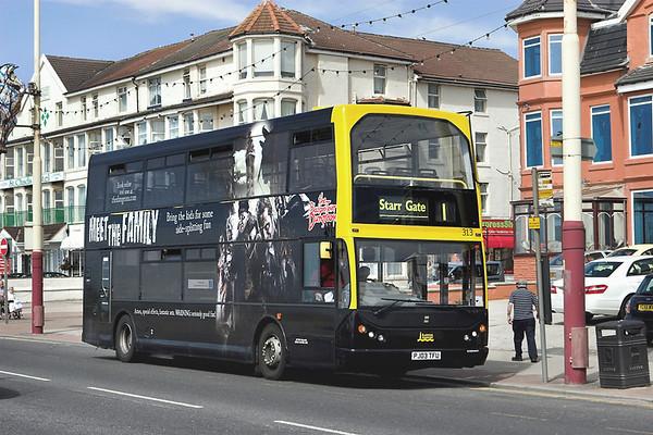 313 PJ03TFU, Blackpool 12/7/2012