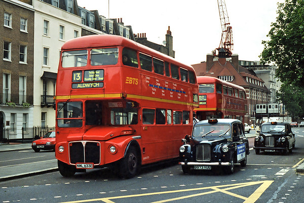 RML2633 NML633E, Baker Street 24/6/1995