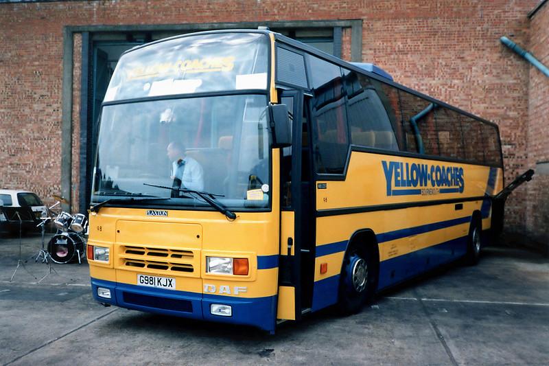 98 G981KJX, Bournemouth 7/7/1991