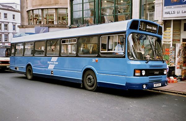 31 XFG31Y, Brighton 18/5/1991