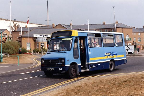 64 E464CWV, Brighton Marina 19/8/1995