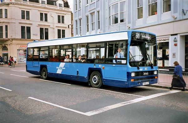 45 F545LUF, Brighton 18/5/1991