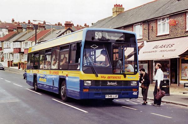 46 F546LUF, Hollingdean 15/7/1994
