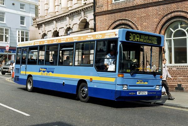 71 M71CYJ, Brighton 13/8/1996
