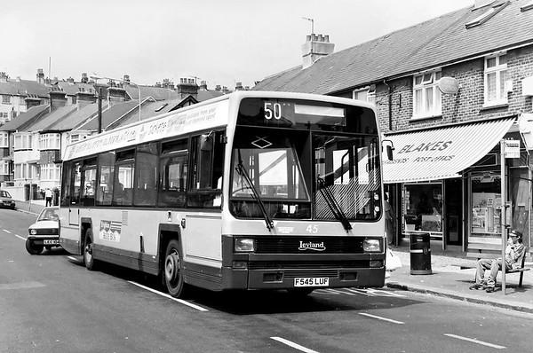 45 F545LUF, Hollingdean 14/7/1994