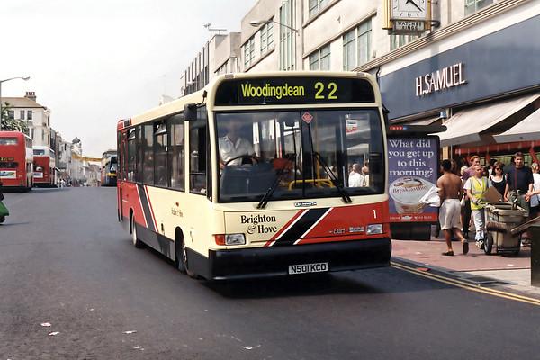 1 N501KCD, Brighton 19/8/1995