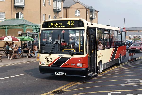4 N504KCD, Brighton Marina 19/8/1995
