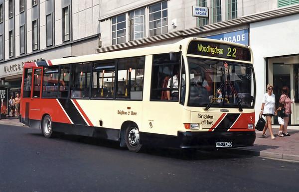 3 N503KCD, Brighton 19/8/1995