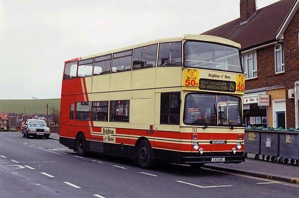 113 C113UBC, Woodingdean 18/4/1994